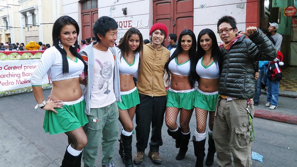 グアテマラの美人だらけ!?ケツァルテナンゴのパレードでみた美女まとめ