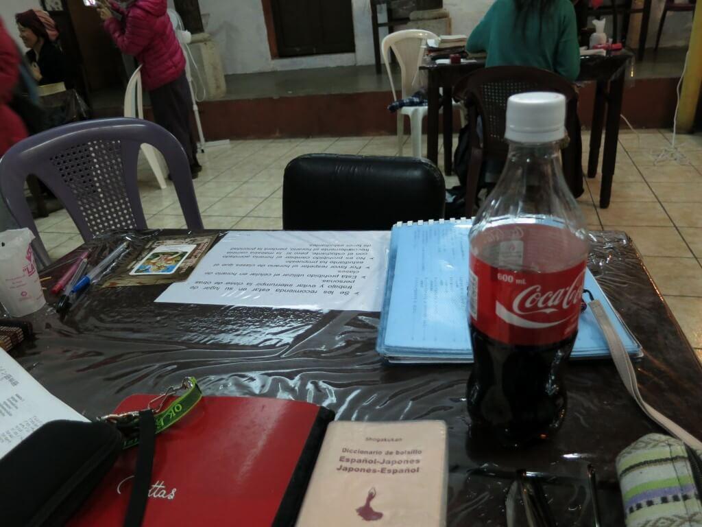 今日のコーラ スペイン語勉強も続けるよ
