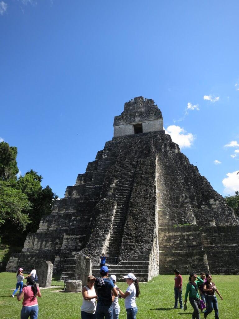ジャングルを更に奥へと・・・ティカル遺跡「スカイピアの神殿」が!