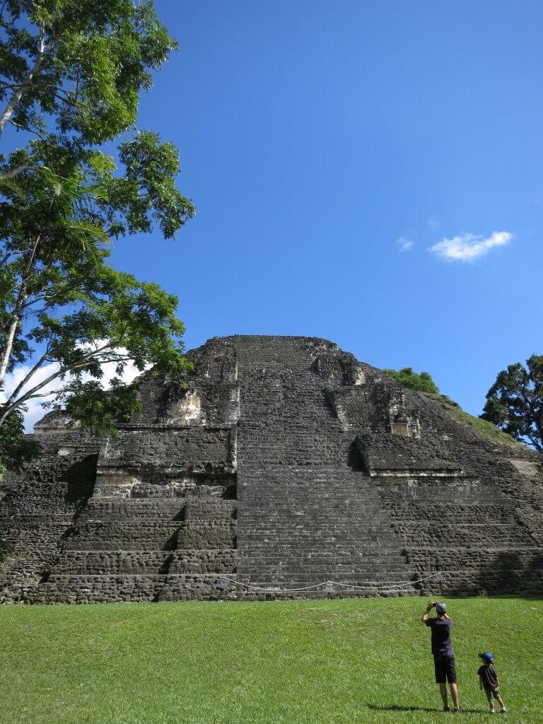 「Lost World 失われた世界」 ティカル遺跡 グアテマラ