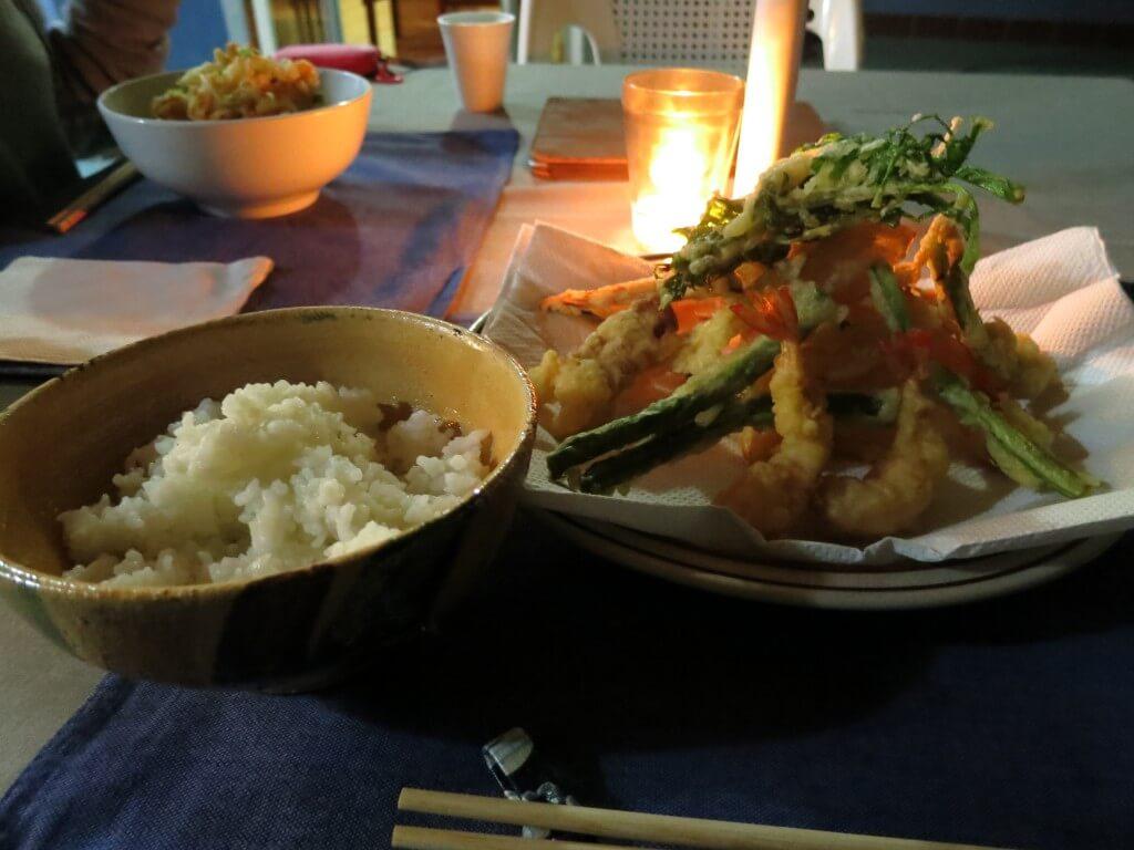 パナハッチェルは食べ物も安いし、おいしいし、日本食も・・・めっちゃうまいぞ!エル・ソルの日本食!