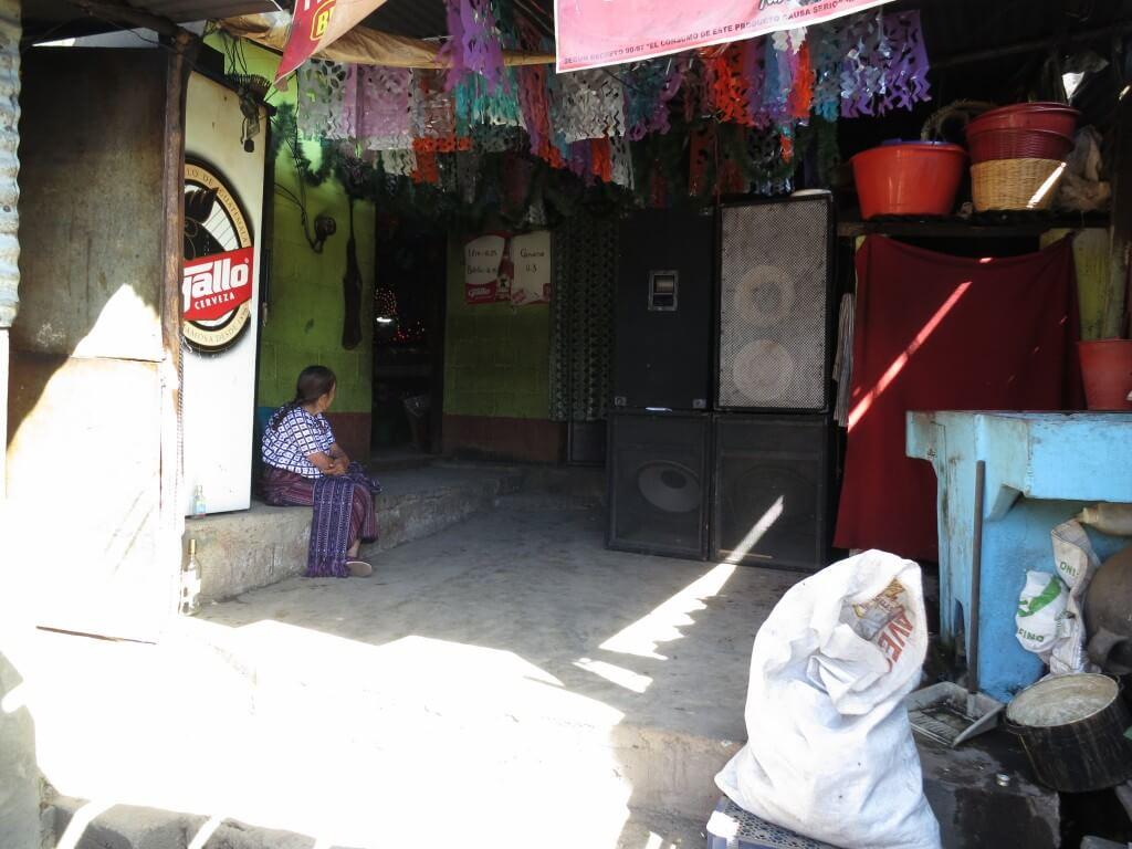 マシモン サンティアゴ・アティトラン村 場所 民家