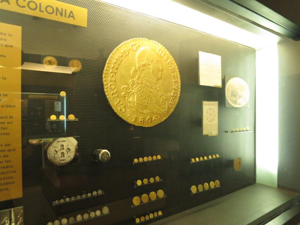 ボゴタにきたならボテロ博物館観光ついでに「貨幣博物館」で記念コインゲット!