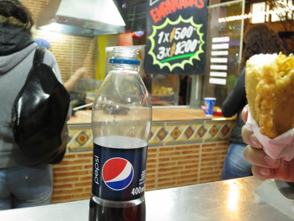 今日のコーラ コロンビアのコーラは高い!