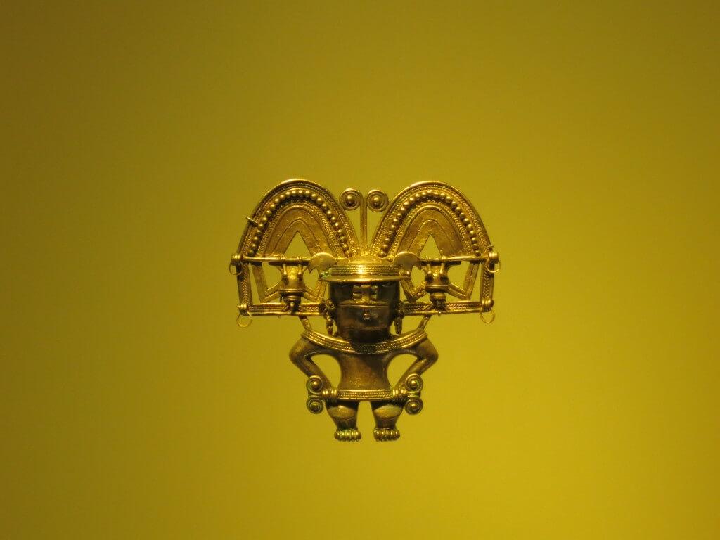 面白い黄金細工 黄金博物館 黄金 ボゴタ コロンビア