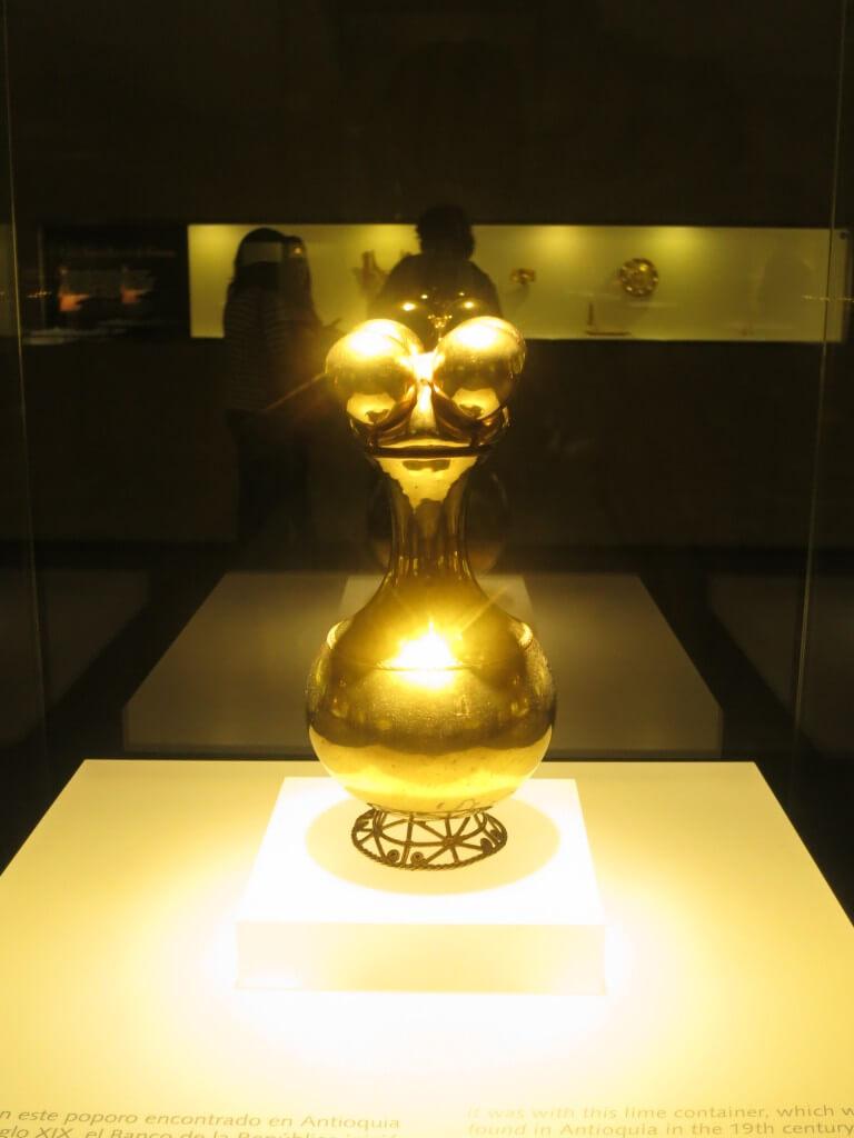 黄金のポポロ 黄金博物館 黄金 ボゴタ コロンビア