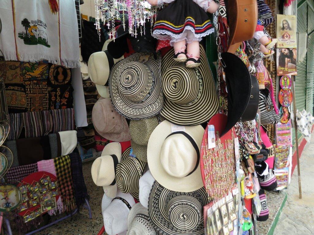 モンセラーテの丘 ボゴタ コロンビア お土産
