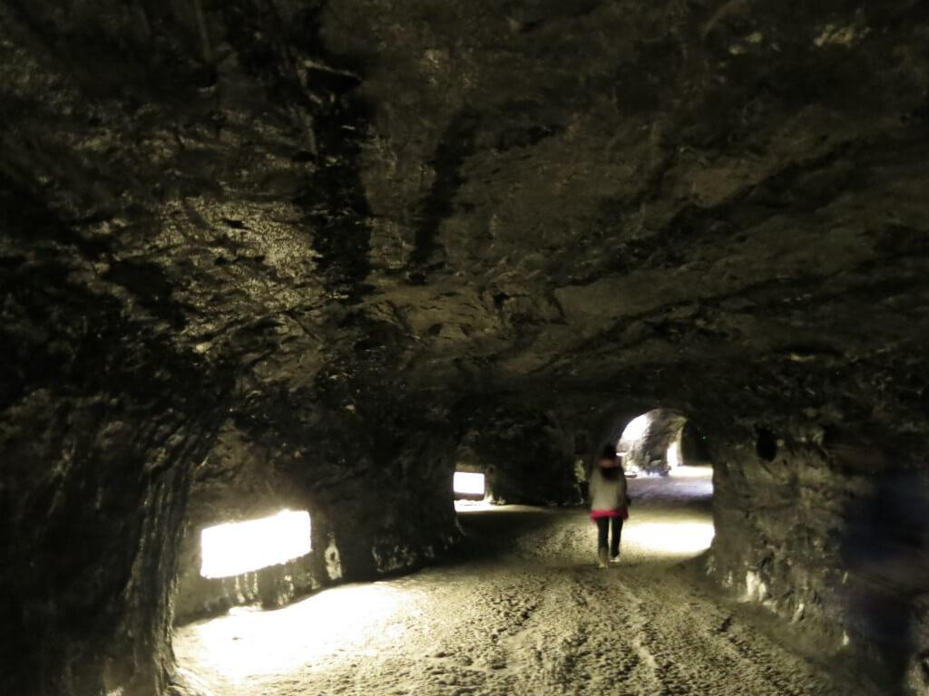 シキパラ 岩塩教会 迷路 コロンビア