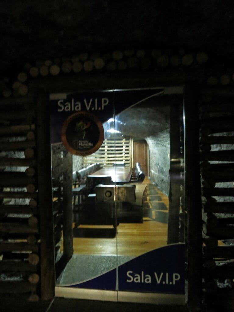 VIPルーム シキパラ 岩塩教会 迷路 コロンビア