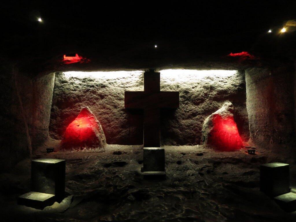 モニュメント シキパラ 岩塩教会 迷路 コロンビア