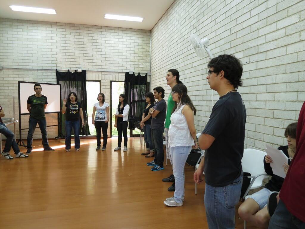 日本語クラブ 劇の練習 メデジン コロンビア