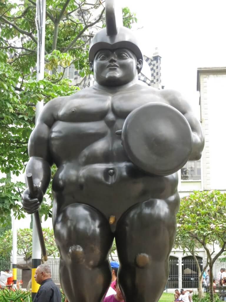 ボテロ 彫刻 セントロ メデジン コロンビア