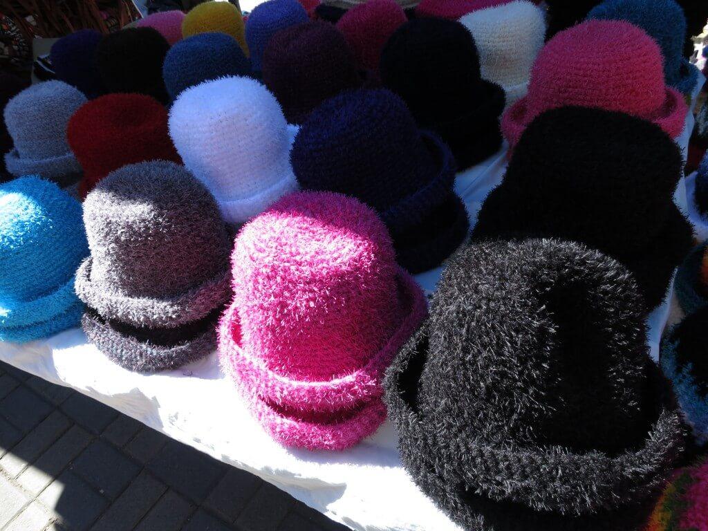オタバロの土曜市の手工芸品の数々!エクアドルのお土産にいかが?