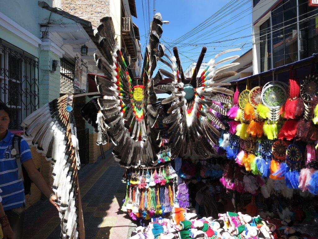 インディアン オタバロ 土曜市 エクアドル