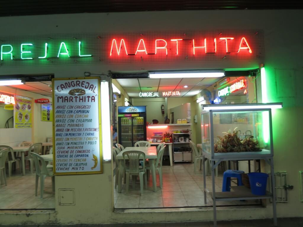 グアヤキルはマンブローブガニがなぜか有名 しかも1匹3ドルという安さ!