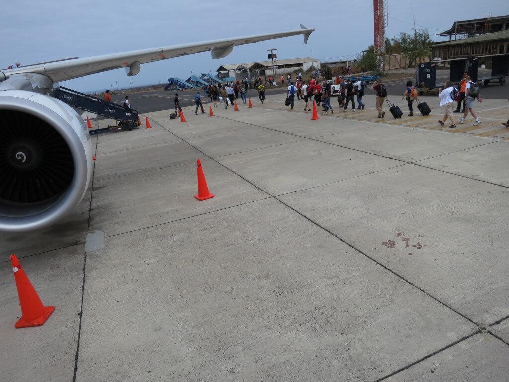 いざガラパゴス諸島へ!AeroGal(アエロガル)航空で向かうよ!