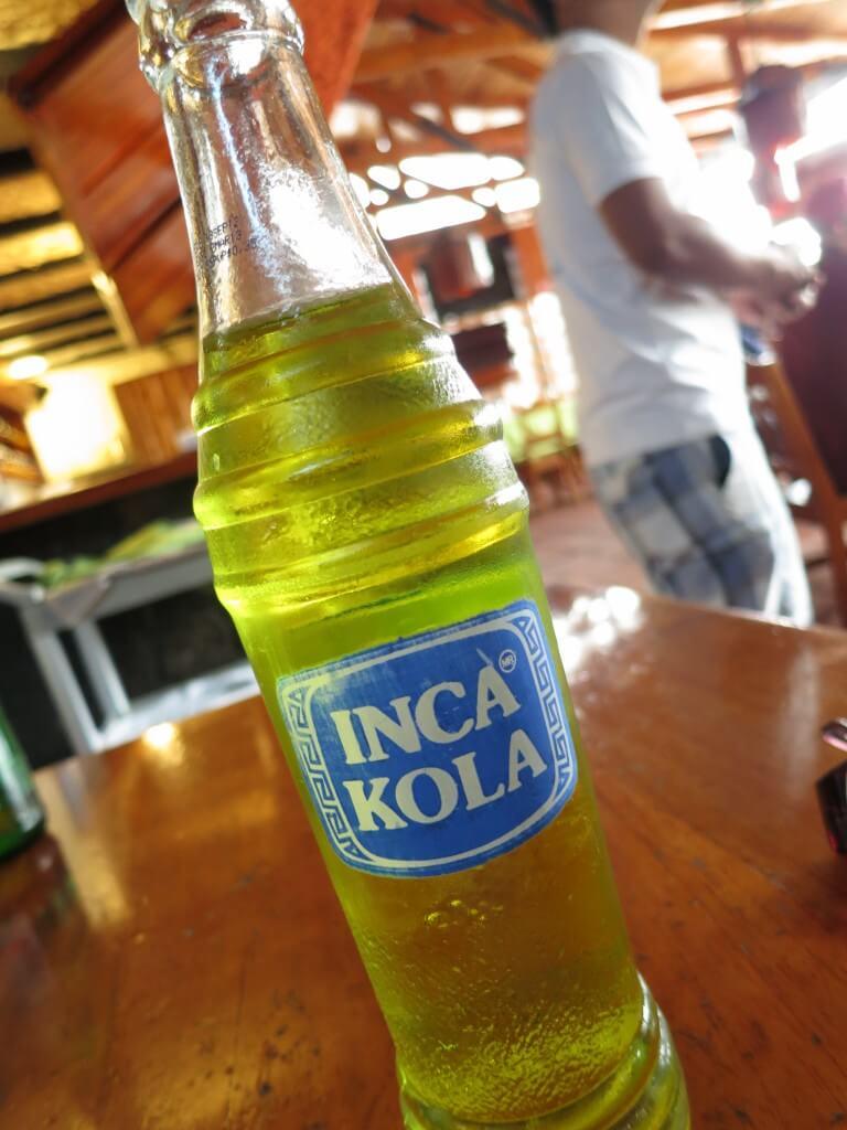 今日のコーラ インカコーラをサンタ・クルス島で発見!