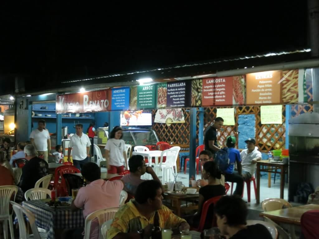 ガラパゴス諸島の物価はエクアドル本土の1.5~2倍の値段だよ!安食堂もあるし!