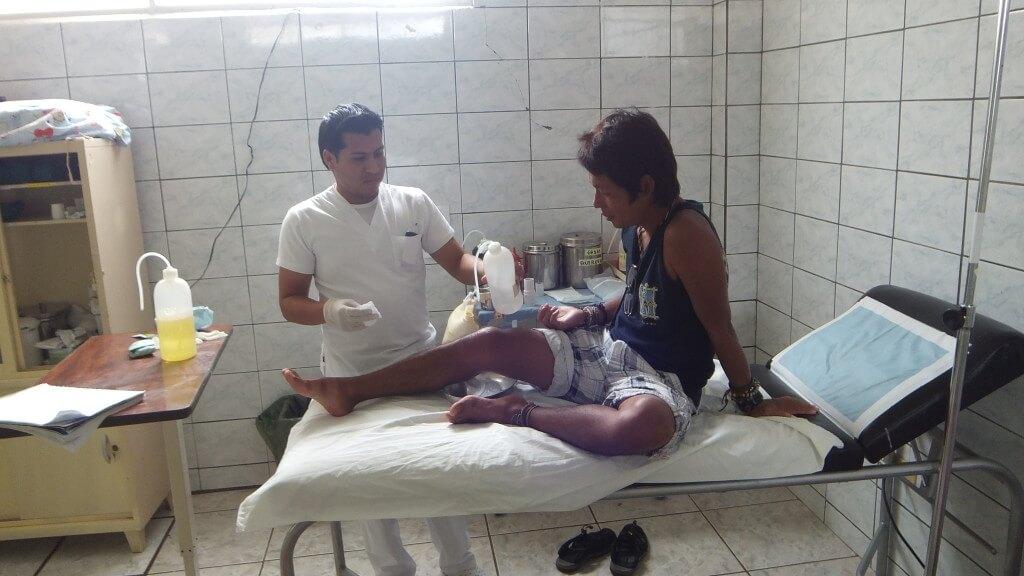 サンクリストバル島 病院 治療 無料