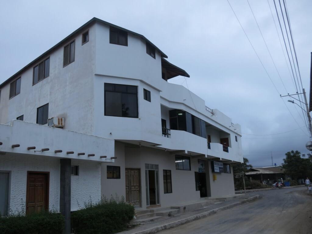 イサベラ島で泊った宿は La isla del descanso