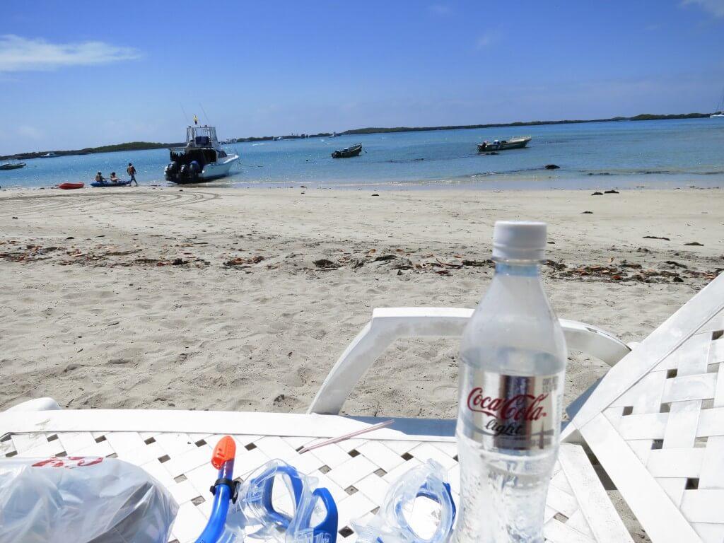 今日のコーラ イサベラ島のビーチと
