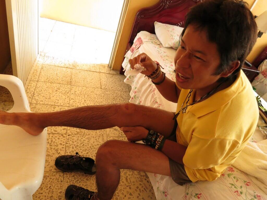 サン・クリストバル島、いやガラパゴス諸島では病院は無料で診察してくれるよ!薬もくれるよ!