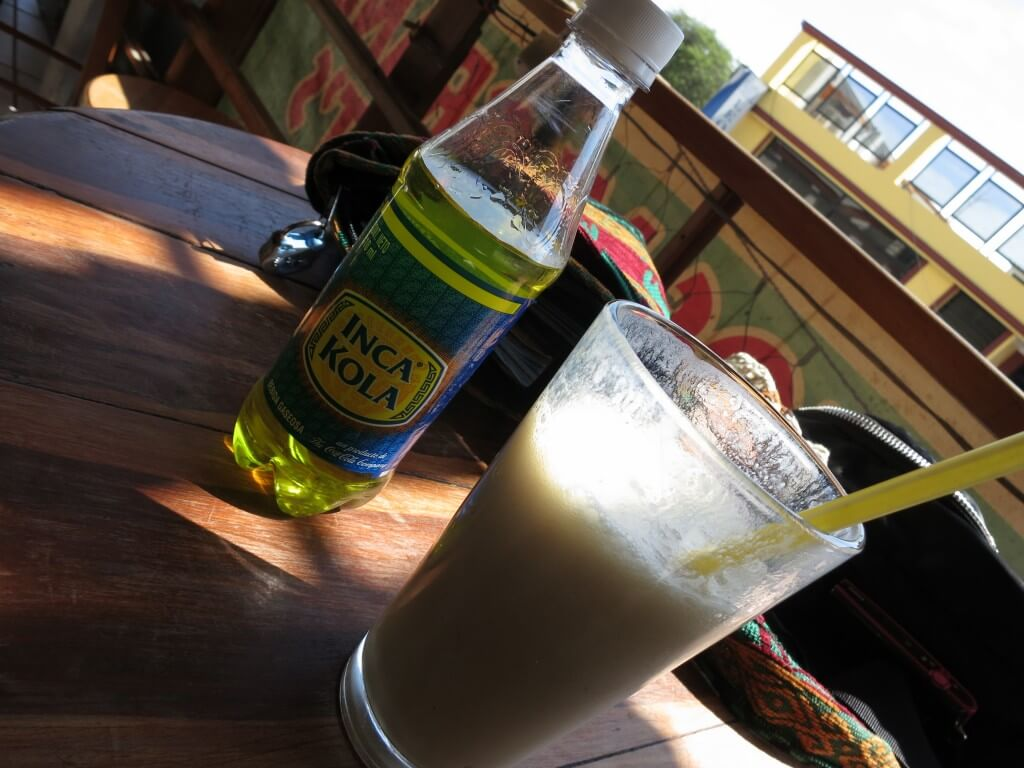 今日のコーラ サン・クリストバル島のシェーク