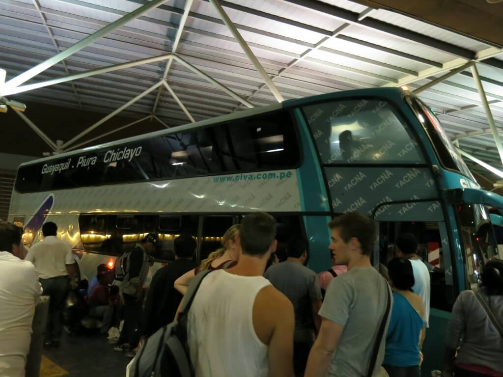 グアヤキルからペルーのリマへ!チクライヨを中継点にCIVA社のバスでゆく旅は?