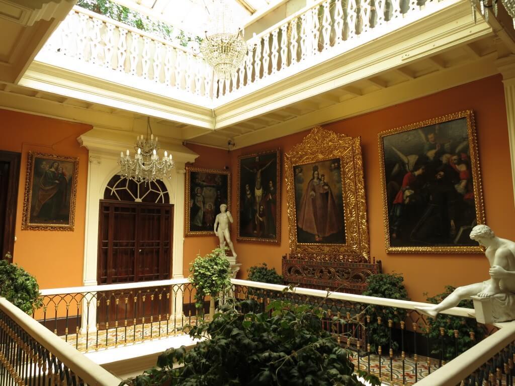 Hotel Espana(ホテル エスパーニャ) リマ 美術館 動物園 彫刻 絵画 ペルー
