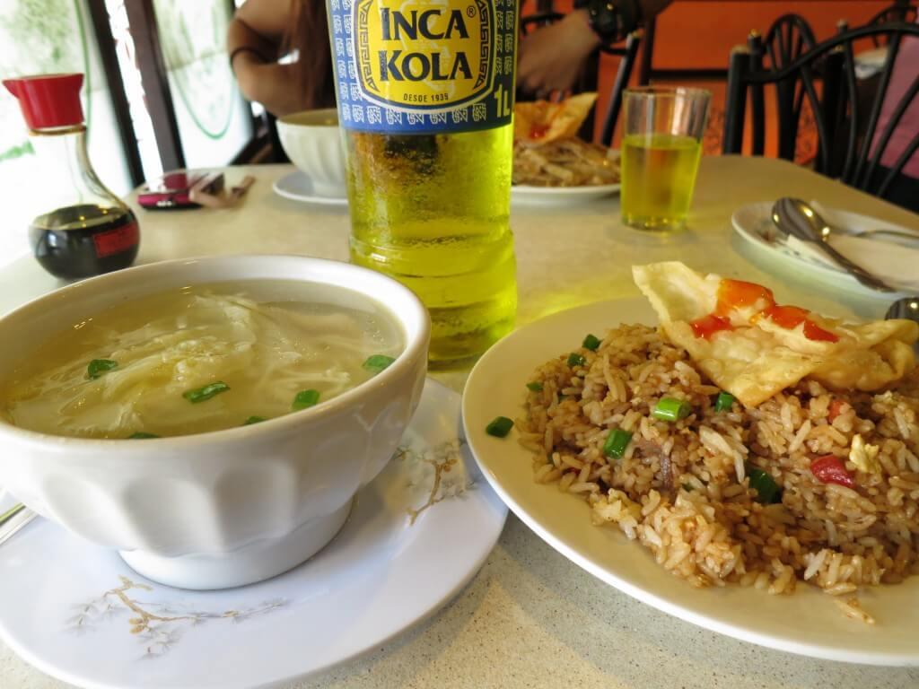 ペルーのリマで中華料理!マジうますぎだわ!