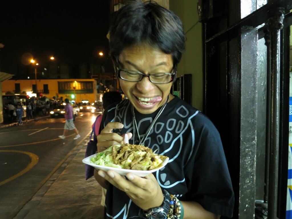 屋台ご飯 リマ ペルー