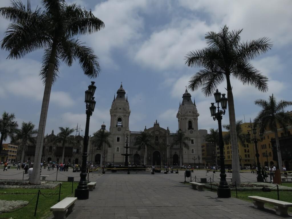 アルマス広場 交代式 リマ ペルー 旧市街