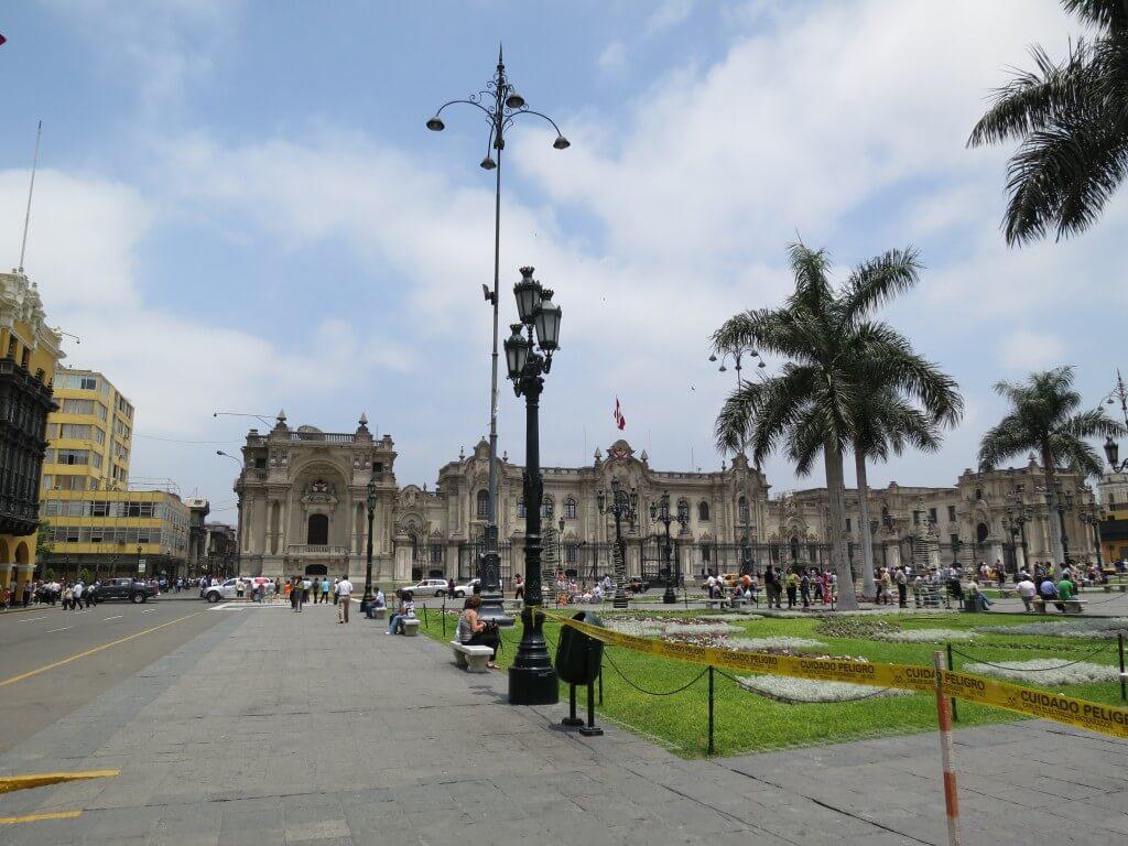 ペルー リマを観光!!まずは旧市街 世界遺産を訪れて!