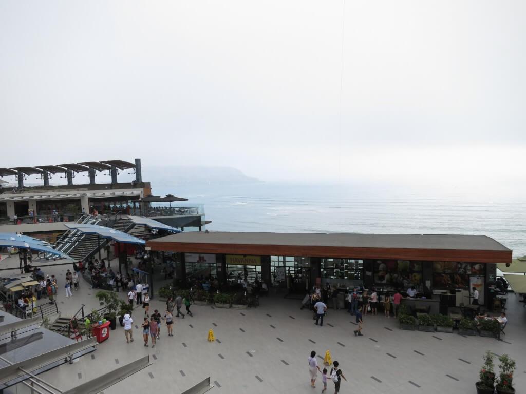 リマの新市街 ミラフローレス地区 ビーチも町もキレイだけど・・・。