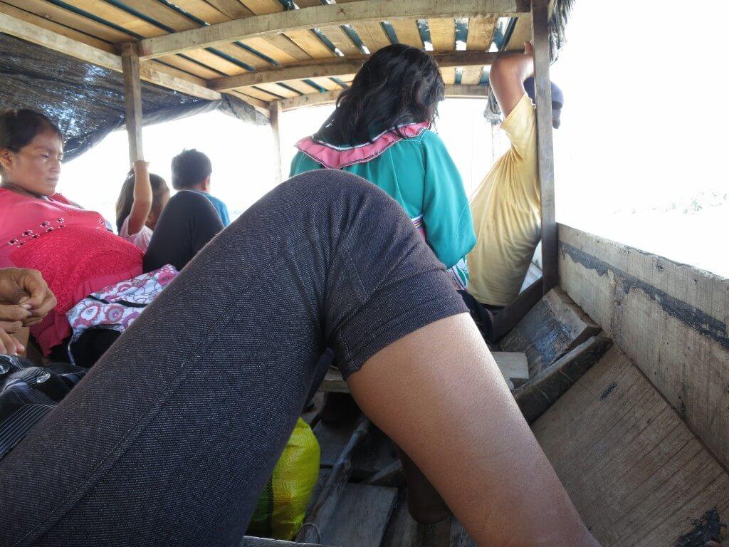 アマゾン川では運がいいと「河イルカ」が見れます!!ピラニアじゃないよ(笑)