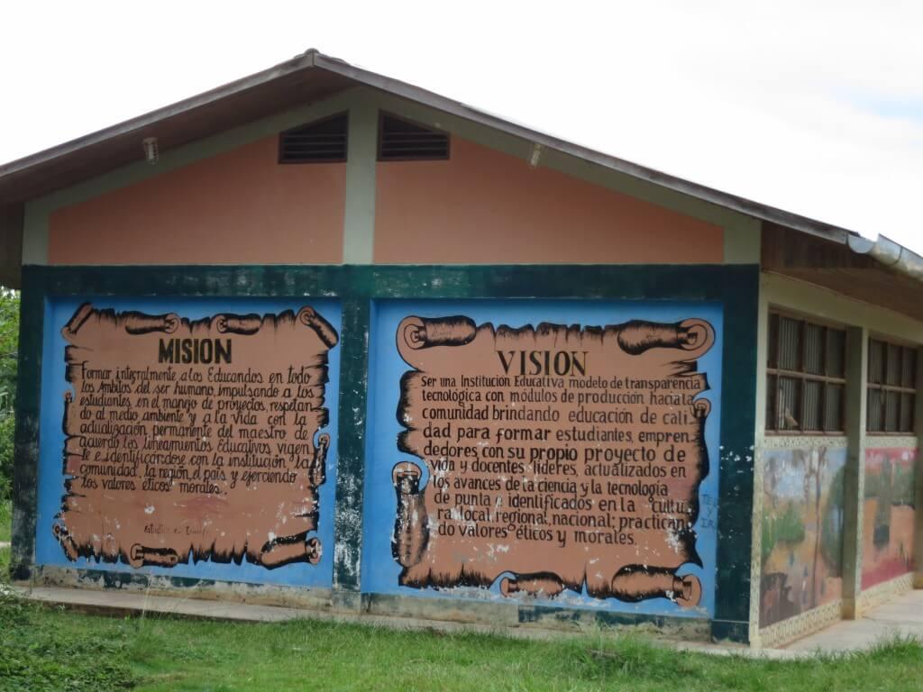 小学校 ビジョン アヤワスカ サンフランシスコ村 シャーマン ペルー
