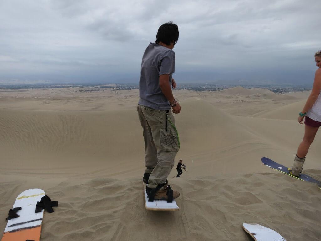 まだまだペルーの砂漠を遊びつくせ!サンドボードで砂丘を滑降!砂まみれ!?