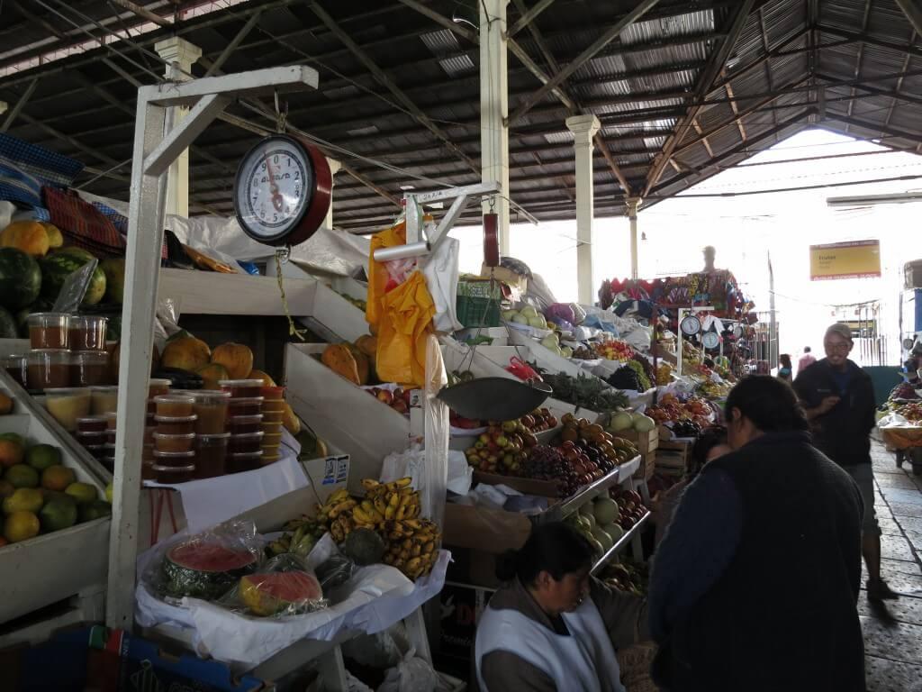 ペルーの郷土料理を知るためにクスコのメルカドに行ってみたよ!