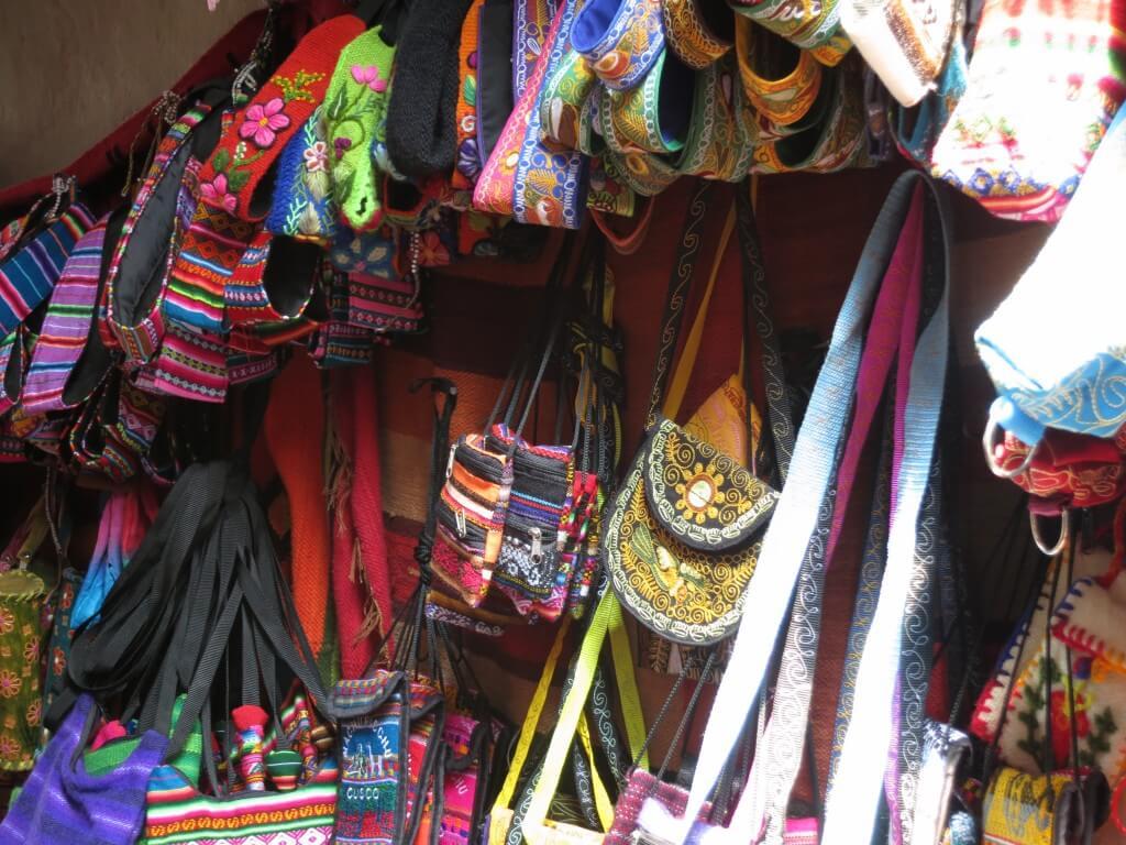 ペルーのクスコのお土産でカバン、小物もおしゃれに!