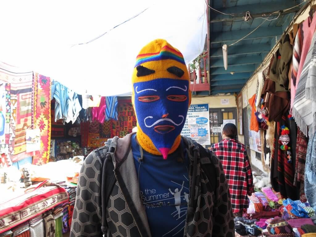 お土産 クスコ ペルー マスク