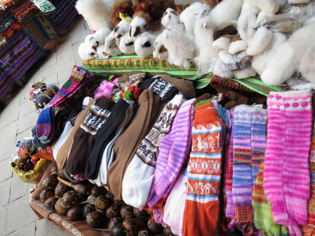 ペルーのクスコのお土産はアルパカ製品で決まり!かわいすぎ♪