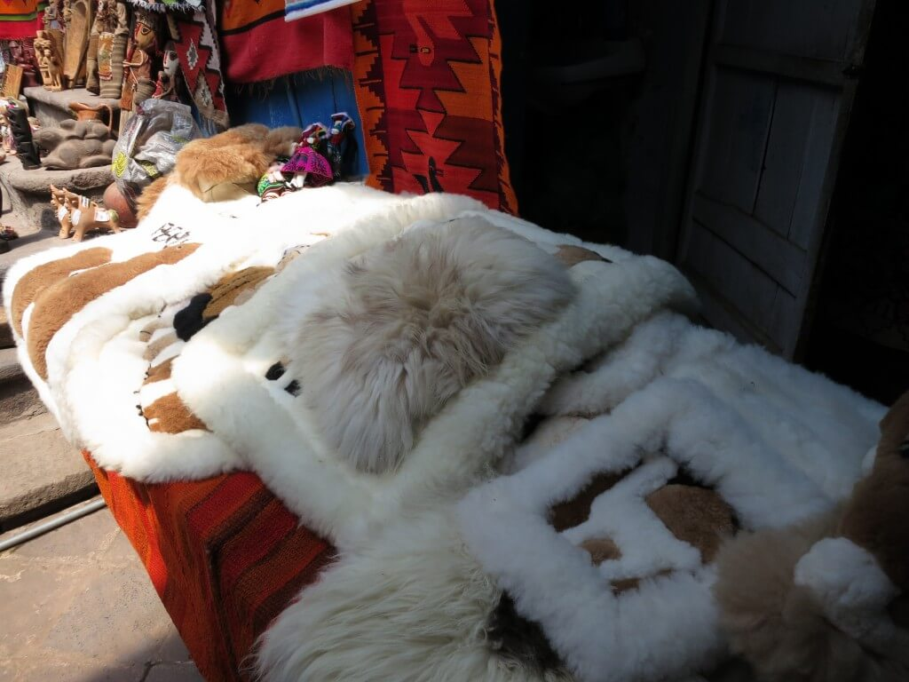 お土産 クスコ ペルー アルパカ