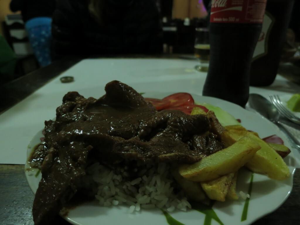 ペルー伝統料理 ロモ・サルタード 絶品です!