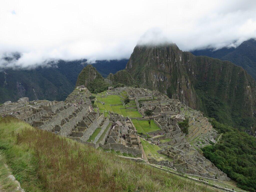 マチュピチュ遺跡 有名な写真 ペルー