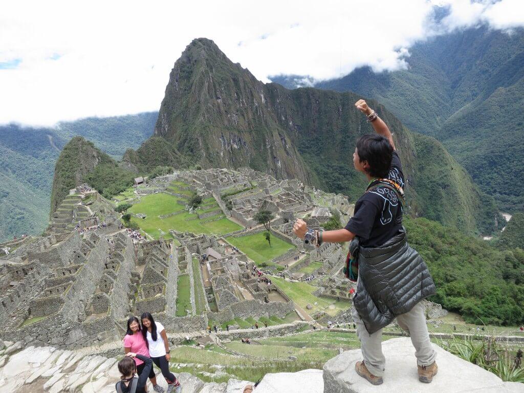 マチュピチュ遺跡 ワイナピチュ ペルー