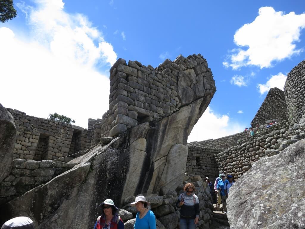 羽の部分 マチュピチュ遺跡 ワイナピチュ ペルー