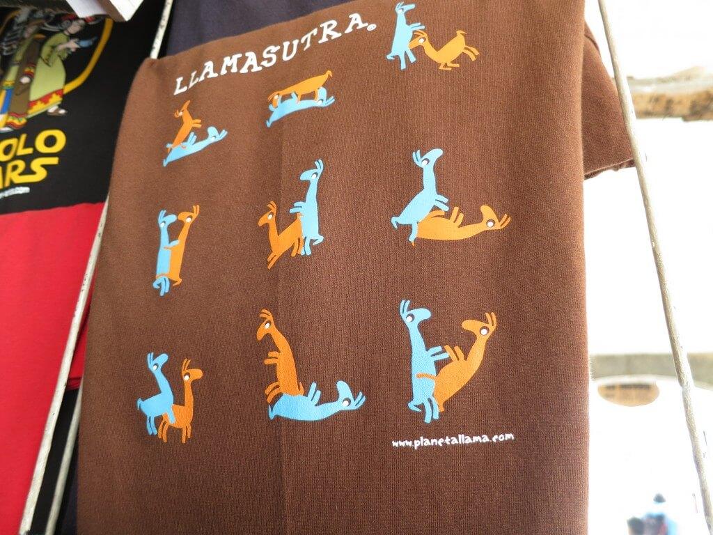 ペルー クスコ お土産 Tシャツ
