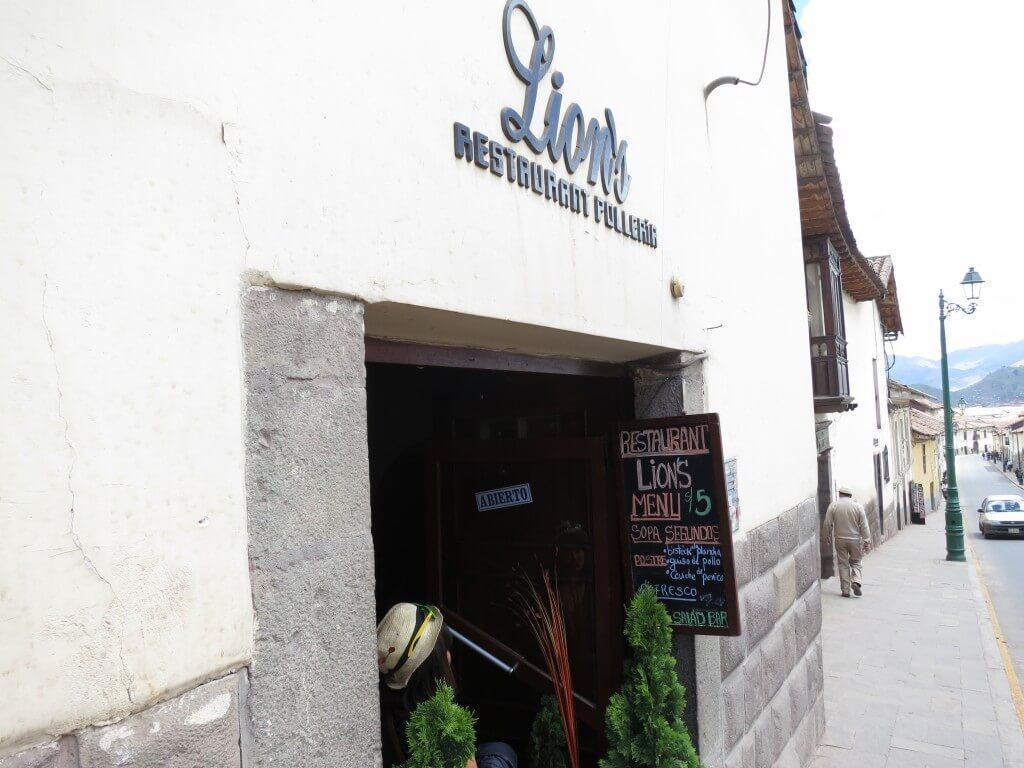 クスコNo1めちゃおいしい&コスパよしのレストラン Lions(リオンズ)