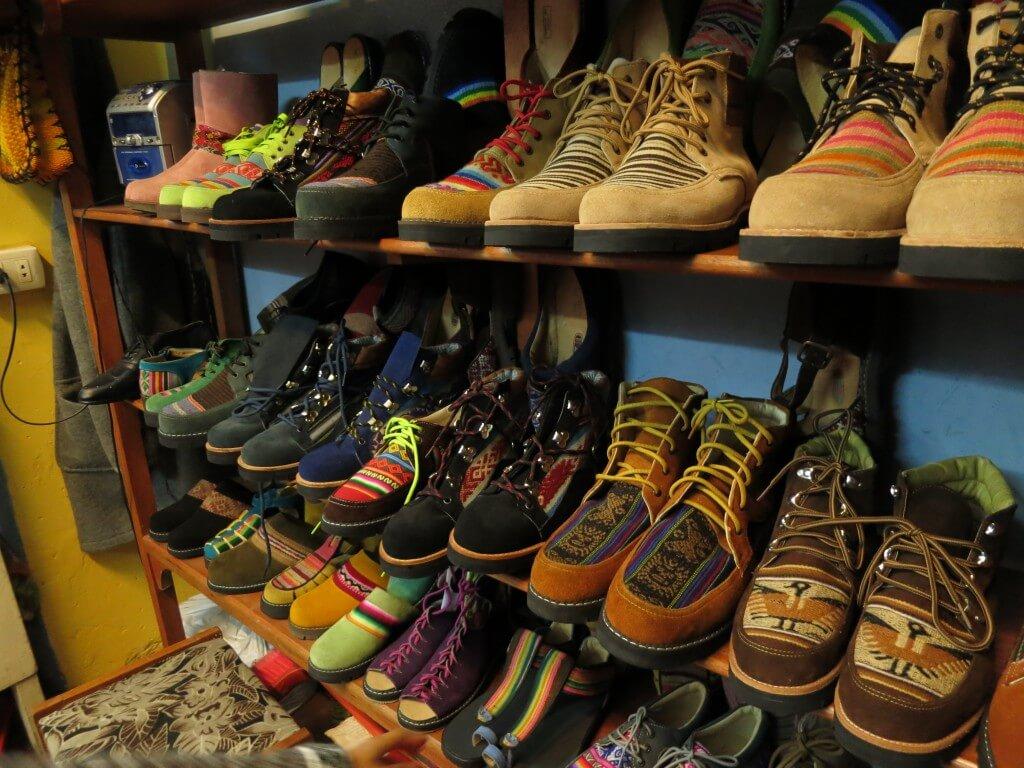 ホルヘさんの靴屋 オーダーメイドシューズ クスコ ペルー