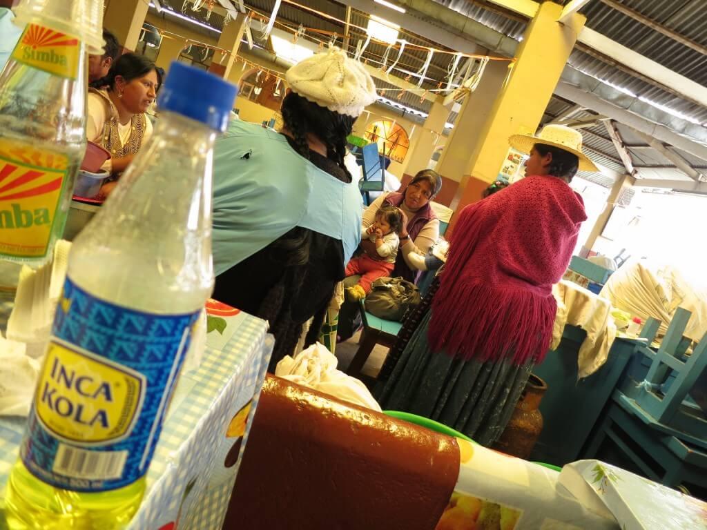 今日のコーラ コパカバーナのトルーチャ食堂